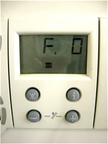 Vaillant ecomax F.01 code display